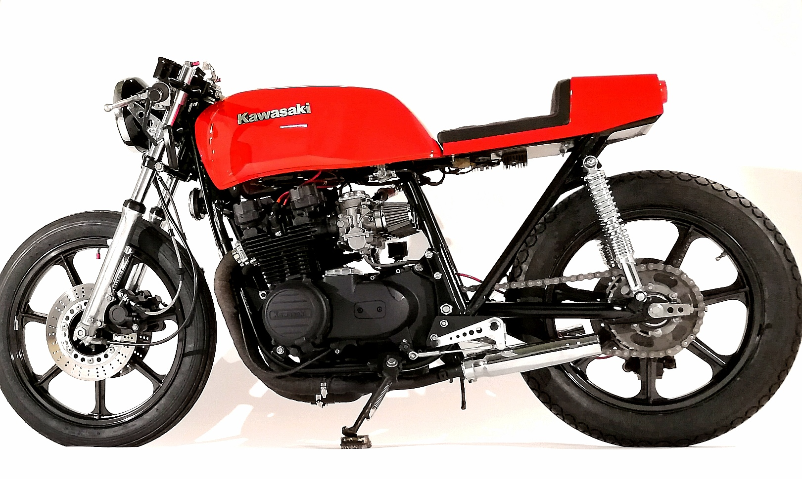 Kawasaki custom Cafe Racer 17machines