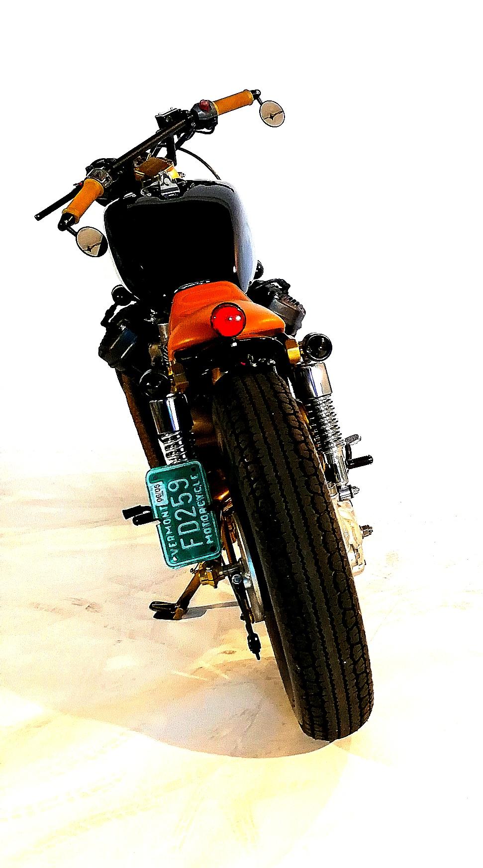 Honda cx 500 custom bobber cafe racer Iron maggot
